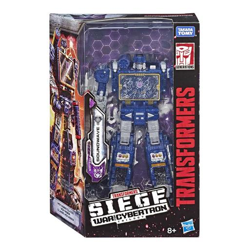 Transformers - Soundwave - Figura War for Cybertron: Siege