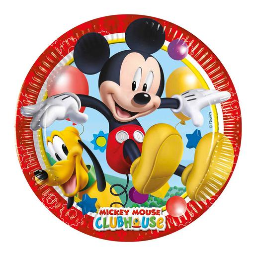 Mickey Mouse - Pack 8 Platos