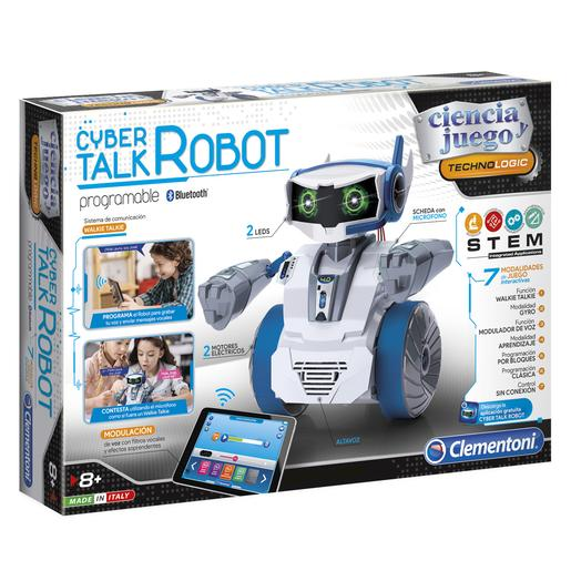 Cyber Robot Talk Programable
