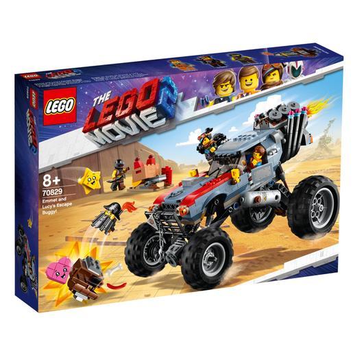 LEGO La Película 2 - Buggy de Huida de Emmet y Lucy - 70829
