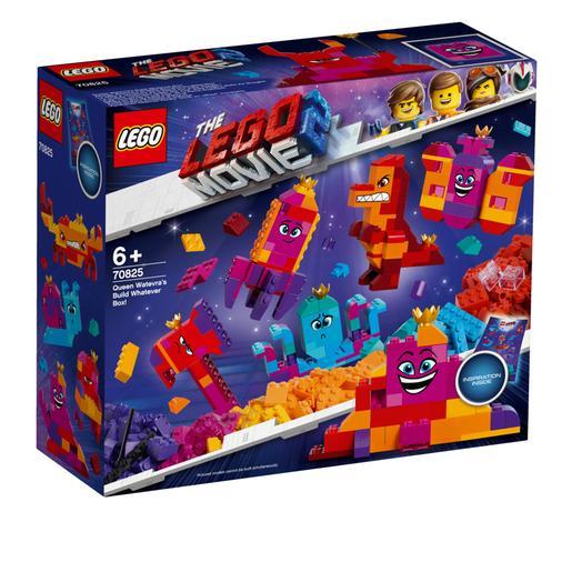 """LEGO La Película 2 - ¡Caja """"Construye lo que Sea"""" de la Reina Soyloque! - 70825"""