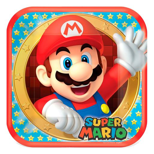 Super Mario - Pack 8 Platos