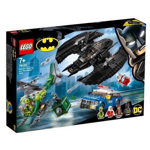LEGO Súper Héroes - Batwing de Batman y el Asalto de Enigma – 76120