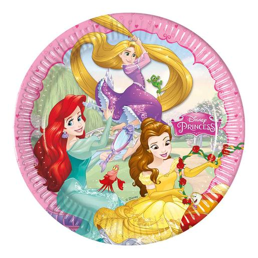 Princesas Disney - Pack 8 Platos
