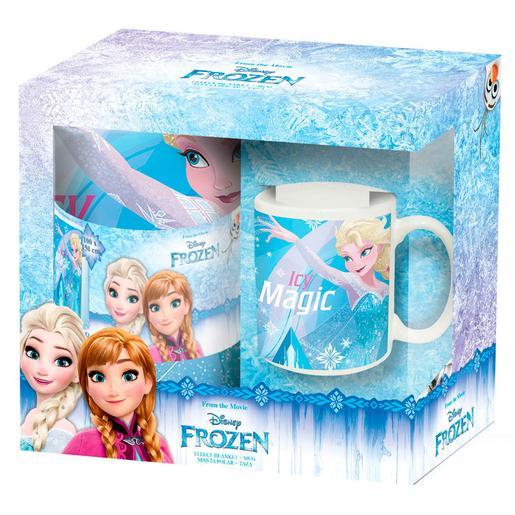 Frozen - Set de Manta y Taza