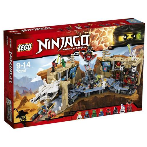 LEGO Ninjago - Caos en la Cueva del Samurái X - 70596