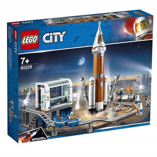 LEGO City - Cohete Espacial de Larga Distancia y Centro de Control - 60228