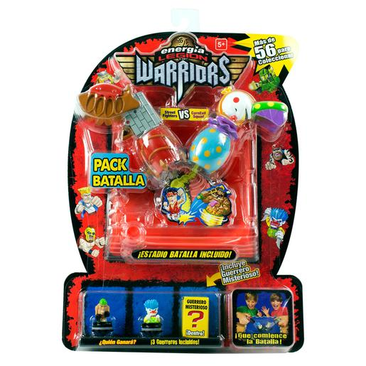 Energía - Legion of Warriors - Street Fighters vs CarnEvil Squad Pack de Batalla