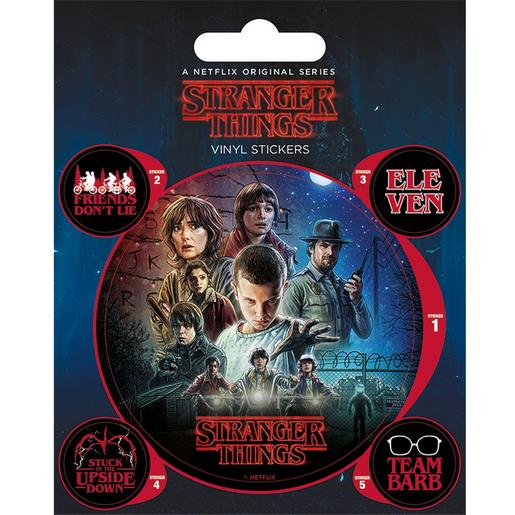 Stranger Things - Pegatina Vinilo