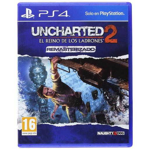 PS4 - Uncharted 2 El Reino de los Ladrones