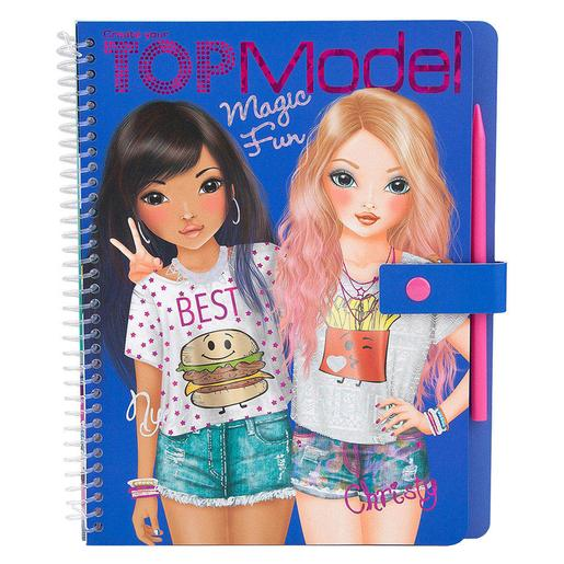 Top Model - Cuaderno Para Colorear Magic Fun