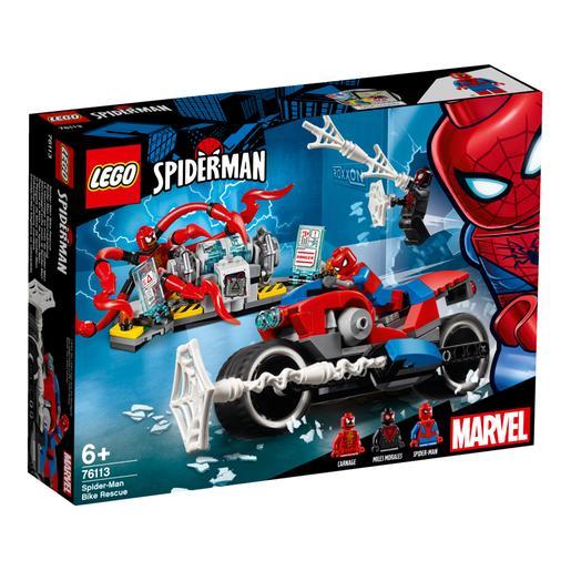 LEGO Superhéroes - Rescate en Moto de Spider-Man