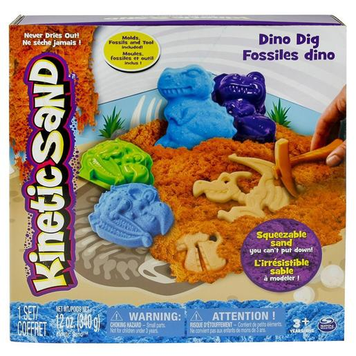 Kinetic Sand - Arena Moldeable - Dinos