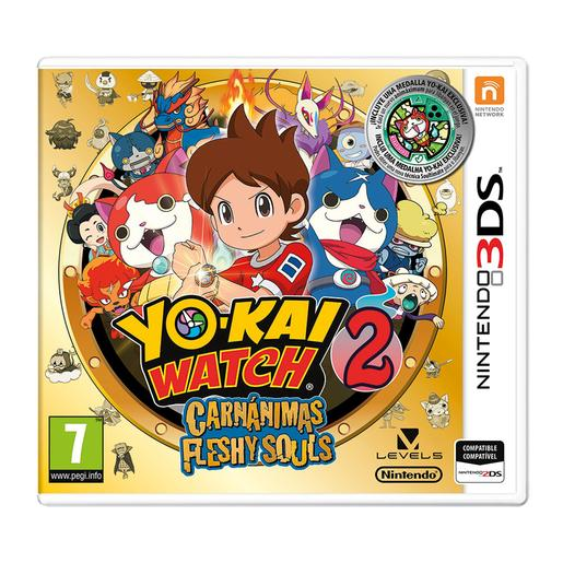Nintendo 3DS - Yo-Kai Watch 2: Carnánimas