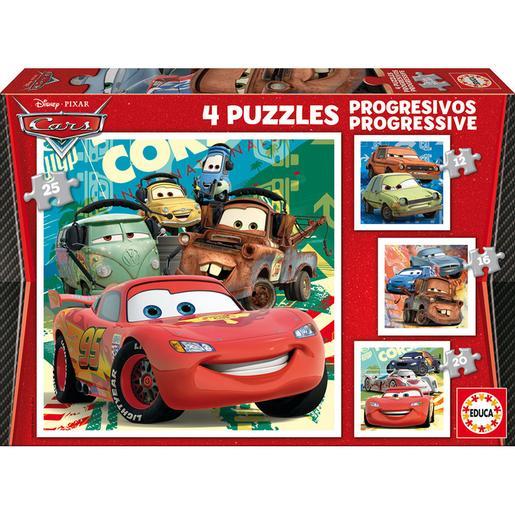 Cars - Maleta Puzles Progresivos Cars 2