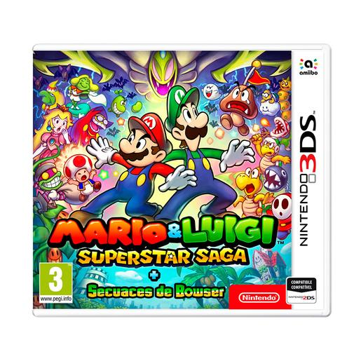 Nintendo 3DS - Mario y Luigi - Super Star Saga y Secuaces de Bowser