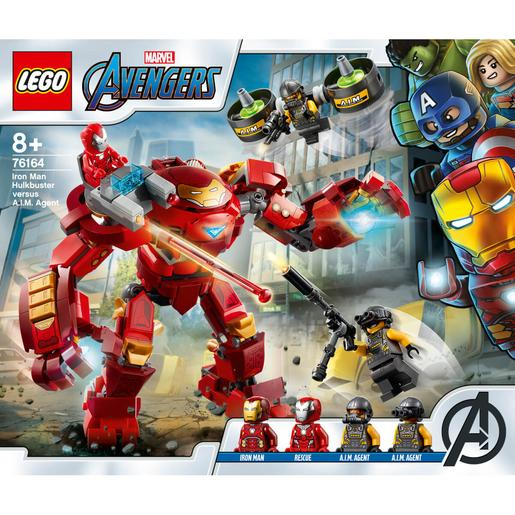LEGO Superhéroes - Hulkbuster de Iron Man vs. Agente de A.I.M. - 76164