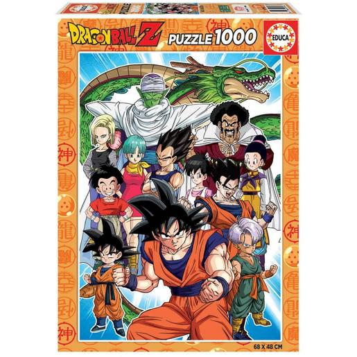 Educa Borrás - Dragon Ball Puzzle 1000 Piezas