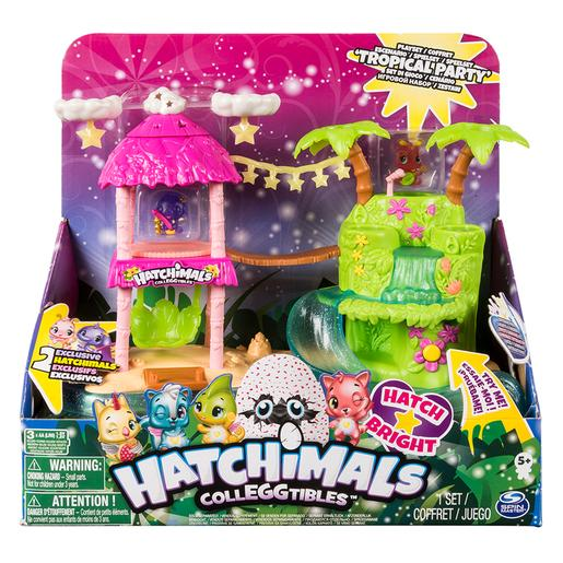 Hatchimals - Playset Isla Luminosa