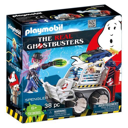 Playmobil - Cazafantasmas Spengler con Coche - 9386