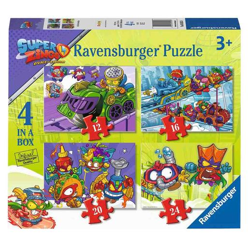 Ravensburger - SuperZings - Puzzle 4 en 1