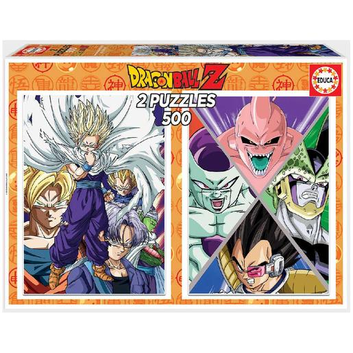 Educa Borrás - Dragon Ball - Pack puzzles 2x500 piezas Dragon Ball Z