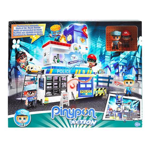Pinypon - Playset Trampas en La Comisaría