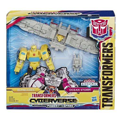Transformers - Bumblebee - Spark Armor Transformers Cyberverse