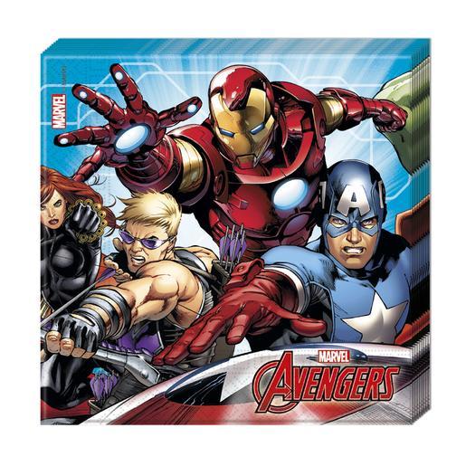 Los Vengadores - Pack 20 Servilletas