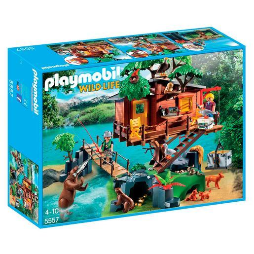 Playmobil - Casa del Árbol de Aventuras - 5557