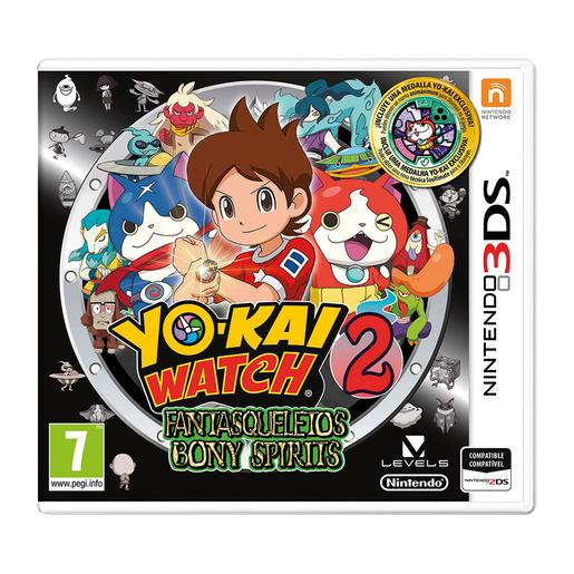 Nintendo 3DS - Yo-Kai Watch 2: Fantasqueletos