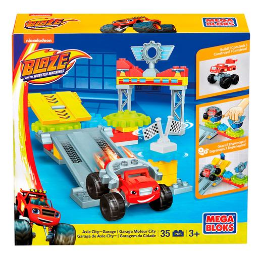 Mega Bloks - Blaze y los Monster Machines - Garaje de Axle City