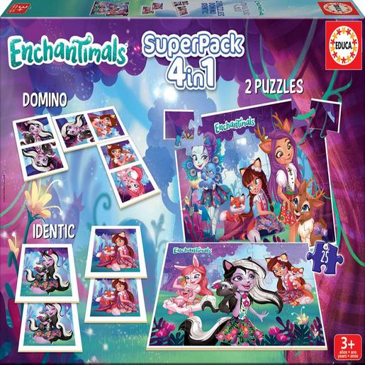 Educa Borrás - Enchantimals - Superpack