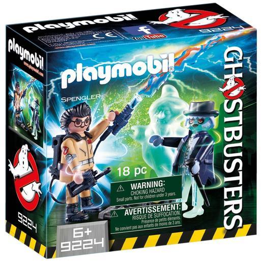 Playmobil - Ghostbusters Spengler y Fantasma - 9224