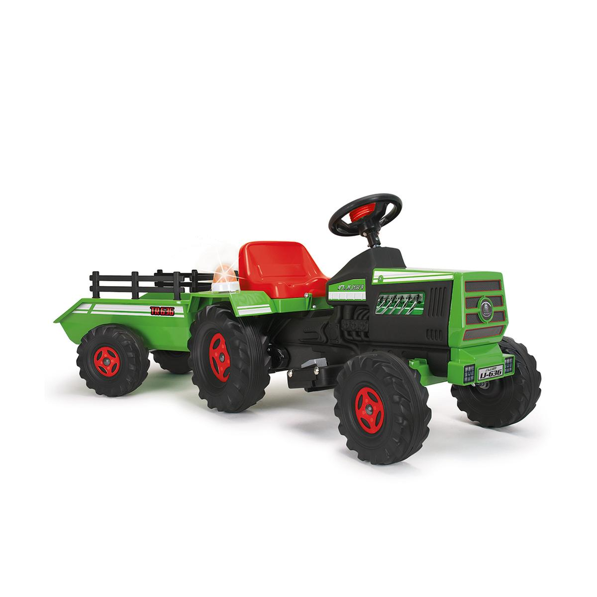 Injusa Tractor con remolque para niños 6V (636)
