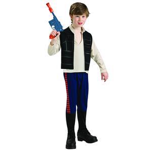 Star Wars – Han Solo – Disfraz Infantil 5-6 años