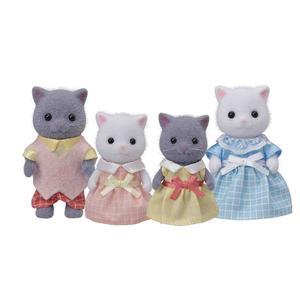 ToysRus Sylvanian Families - Familia Gato Persa