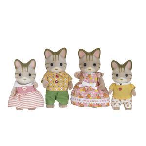 ToysRus Sylvanian Families - Gatos a Rayas