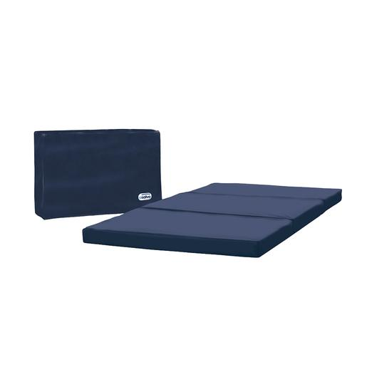 Asalvo - Colchón de Cuna Plegable Azul