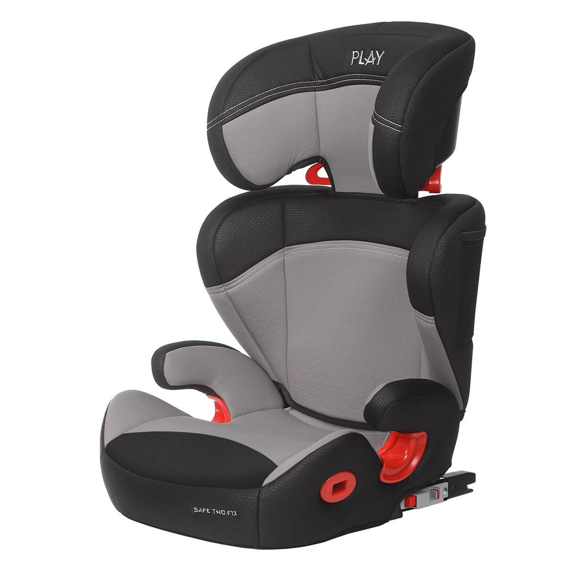 rojo Play Safe Two Fix Plus Silla de coche grupo 2//3 Isofix