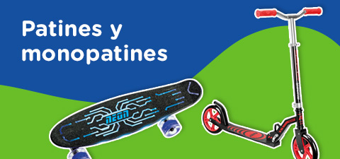 Patines y monopatines
